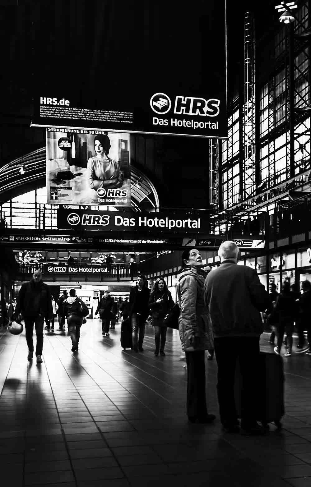 Reise-Bahnhof-Fotografie