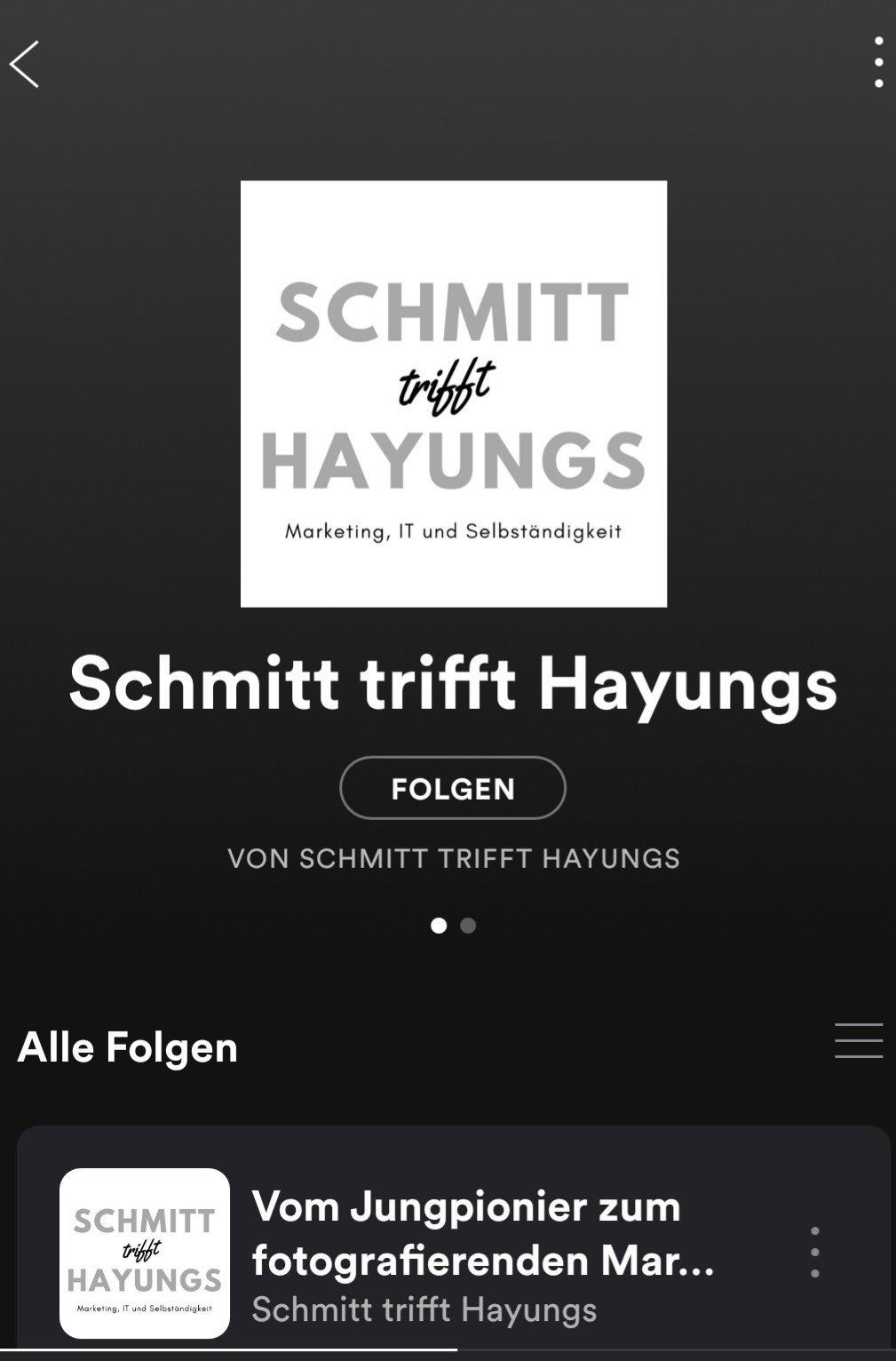 Schmitt trifft Hayungs