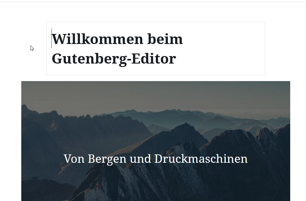 Gutenberg, WordPress 5.0
