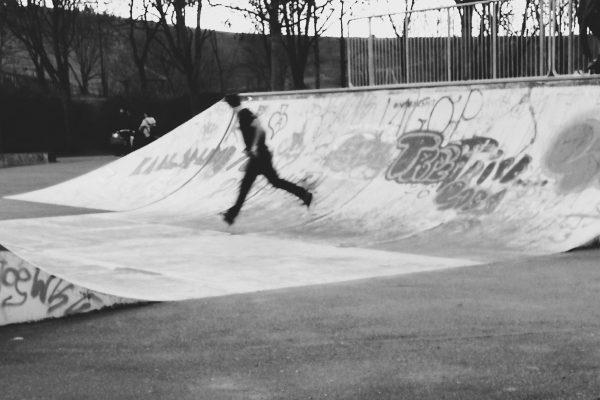 Halfpipe, Skater und ein neues Ziel