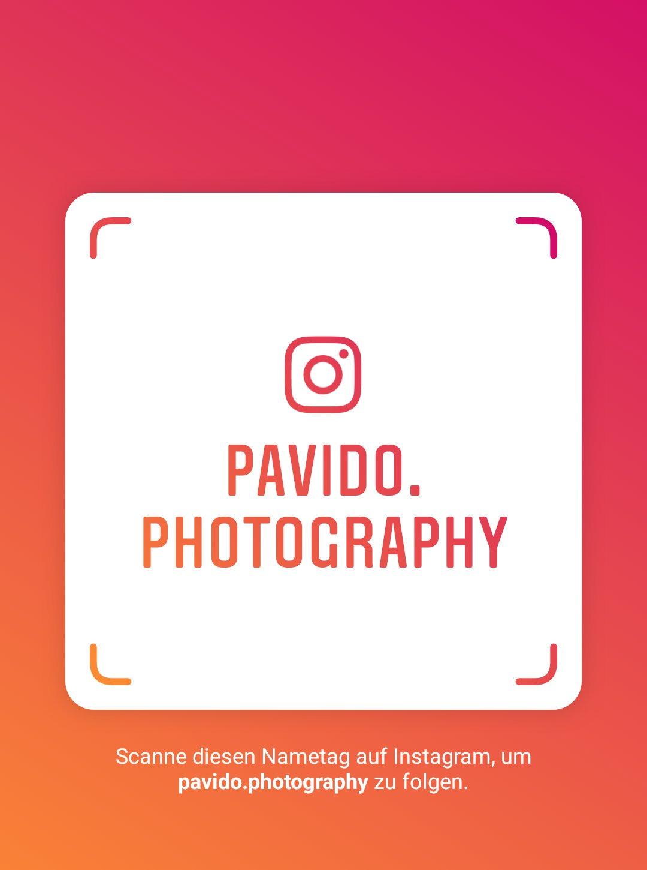 Folgt mir auf Instagram